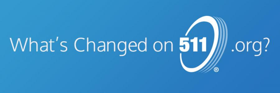 Changes to 511 | 511 org