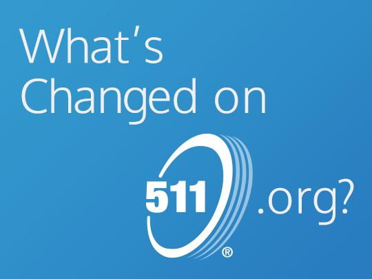 Whats changed on 511.org and logo