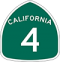 State Route 4 Road Sign