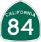 State Route 84 Road Sign