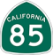 State Route 85 Road Sign