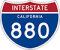 Interstate 880 Road Sign