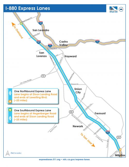 E I 880 Express Lanes 511 Org