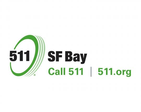 511 SF Bay Logo with tagline, 2-Color horizontal in JPG format