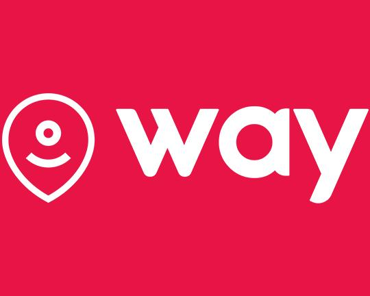 Way logo in red
