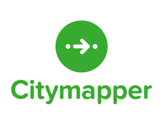 Arrow Pointing Right Logo of City Mapper